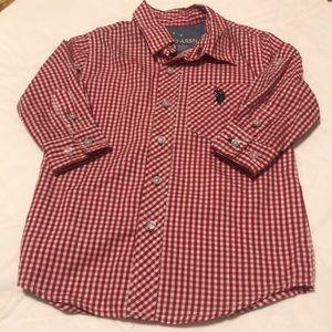 Us Polo Button Down Shirt